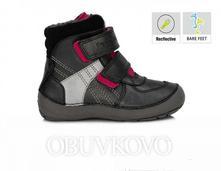 Barefoot dd.step detská zimná obuv 023-804bm, d.d.step,25 - 30