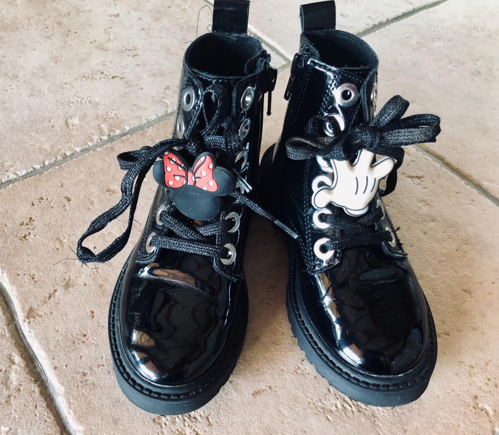 f47d310a1f349 Členkové topánky minnie, zara,27 - 15 € od predávajúcej jarunka75 | Detský  bazár | ModryKonik.sk