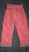 Mencestrove nohavice pre dievcatko, lupilu,86