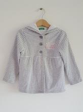 Mikinový kabátik benetton, benetton,104