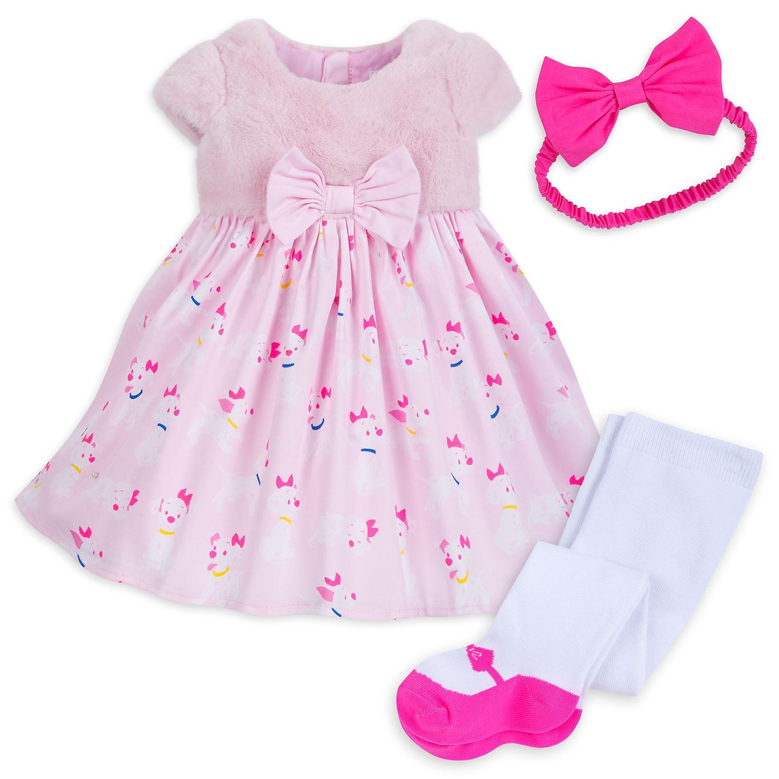 05d0a8cb51ccc Disney krásne šaty s čelenou a pančuškami-101 dalm, disney,56 - 86 ...