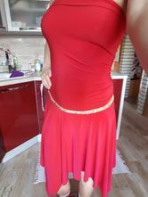 Červené elastické šaty 3897359bd7f