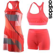 Úúžasne šaty + kratasky + podprsenka adidas 45044f8867