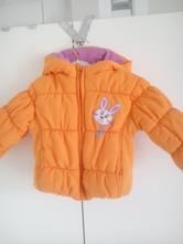 Bundička oranžová, páperová, vel. 0-6 mesiacov, baby,56