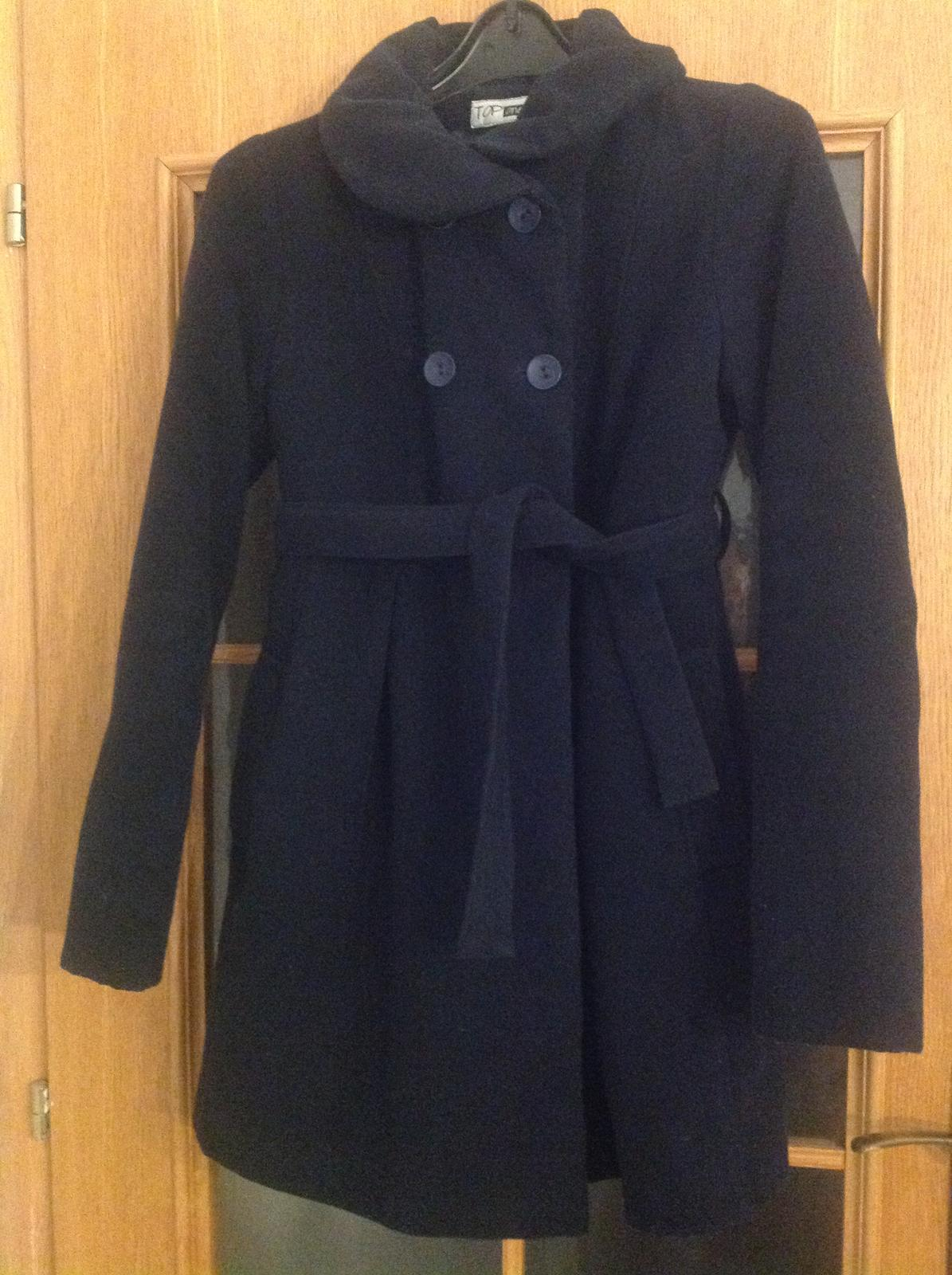 Zimný tehotenský kabát  7ef839b2f53