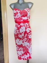 Kvetované šaty, orsay,s