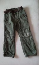 Zateplené nohavice, h&m,110