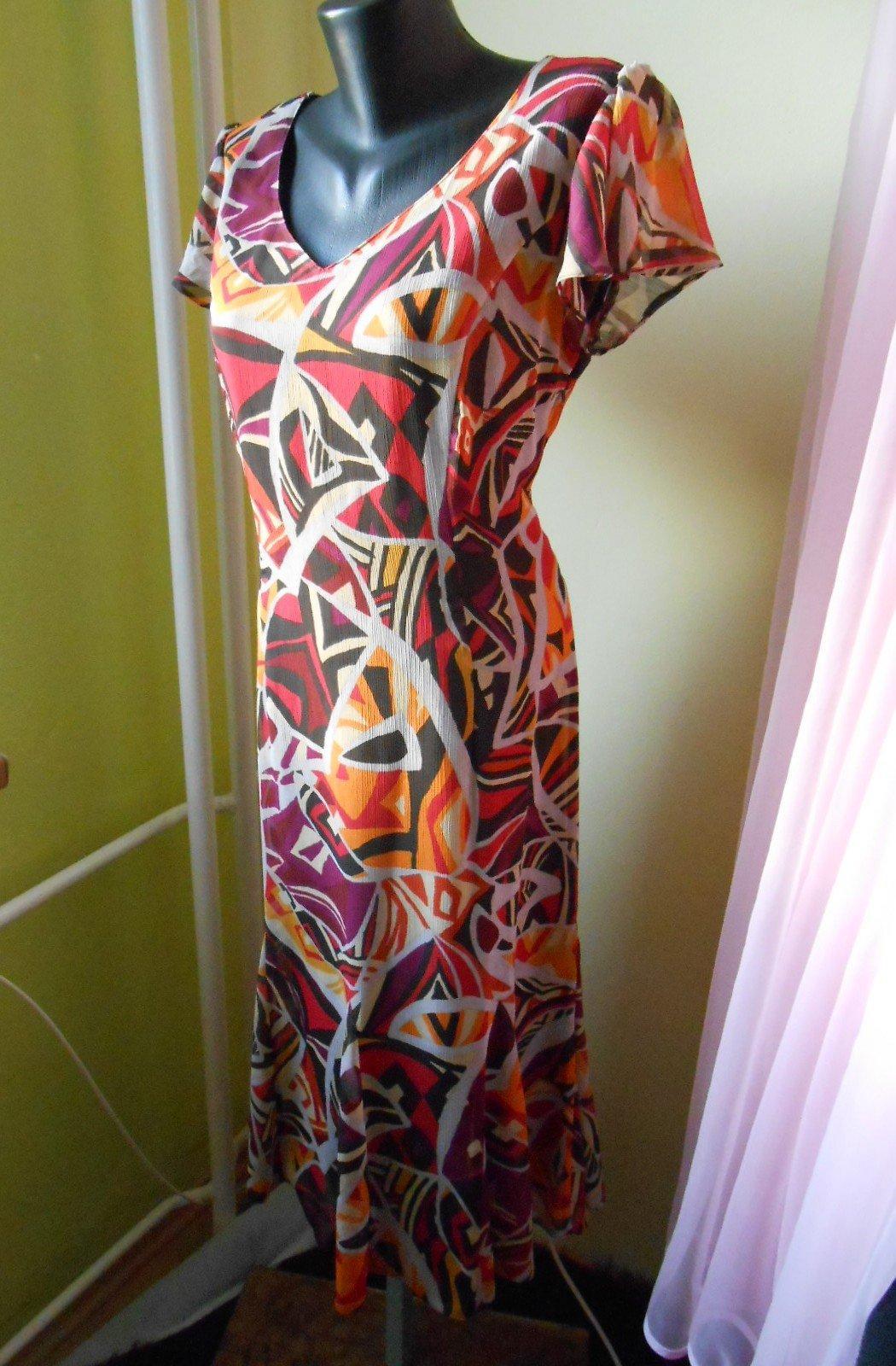 385e725c00fb Farebné vzorované šaty