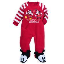 Disney mickey flísový vianočný overal, 62 / 68 / 74 / 80 / 86