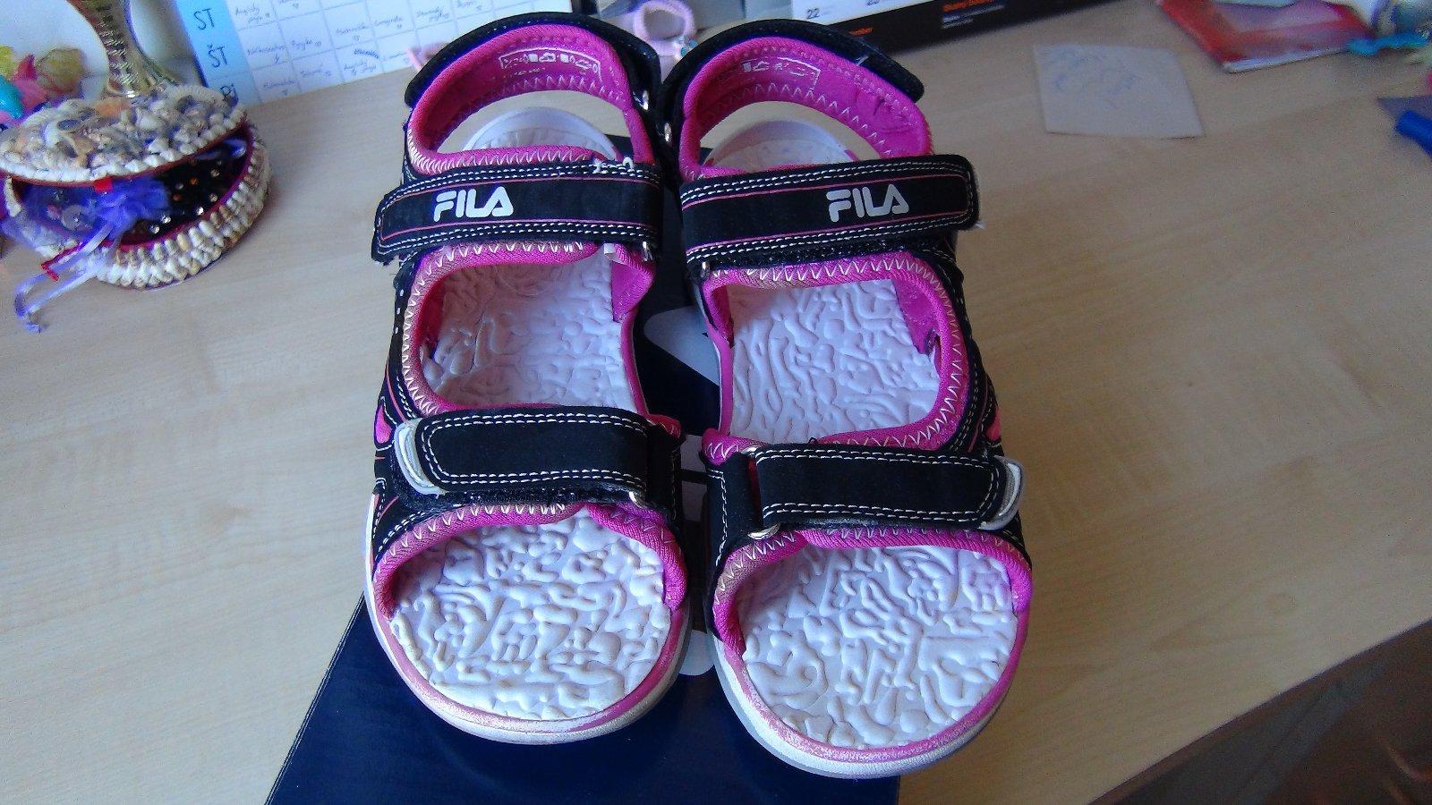 58fc7817f9b1 Dievčenské sandále fila-35