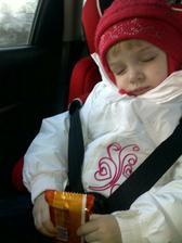 zazrak-Laurinka spi aj cez den