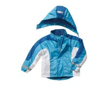 Playshoes zimná bunda bielo-modrá veľ. 80-128, playshoes,80 - 128