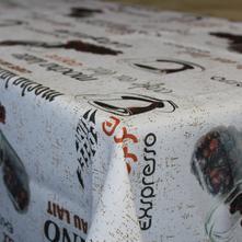 Teflónový obrus káva 80x80cm,