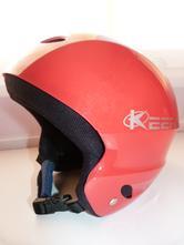 Prilba lyžiarska detská krásna červená bez poškode b025713df13