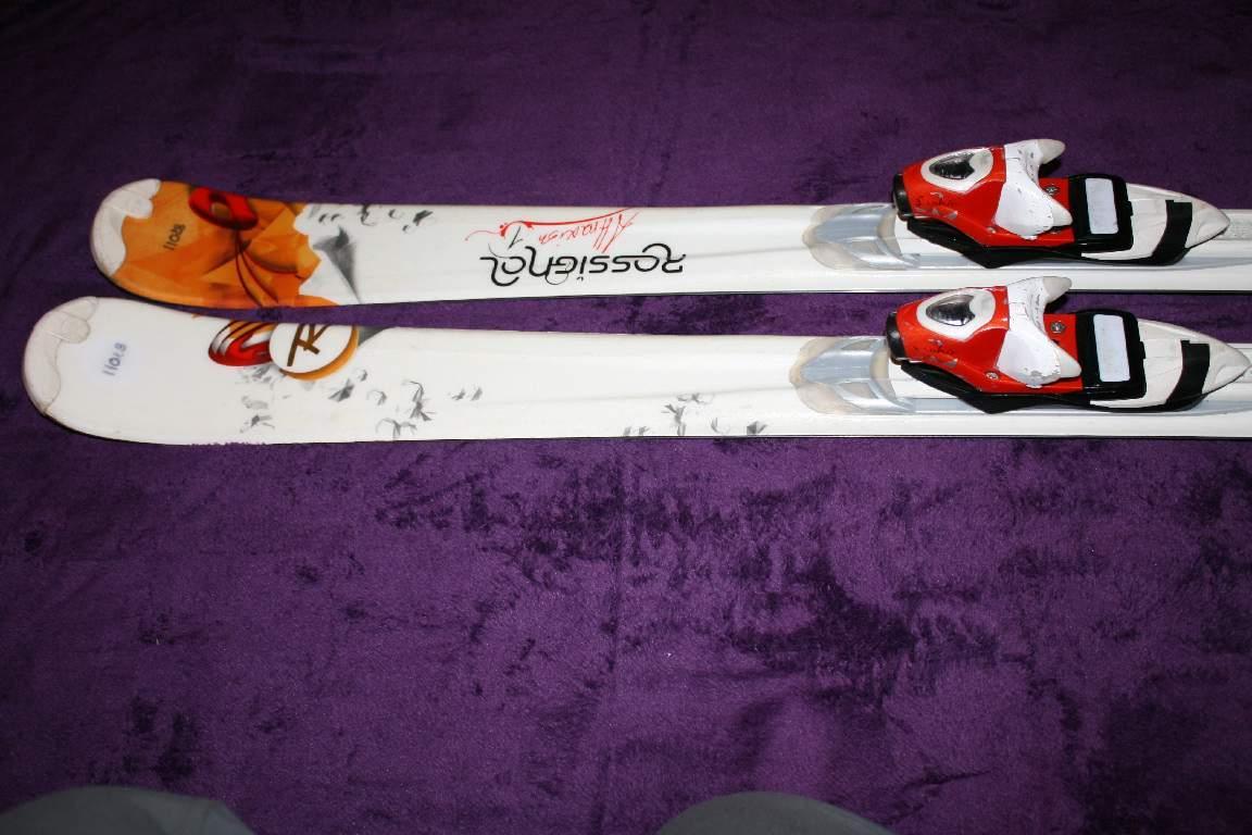 Dámske lyže rossignol attraxion 154 cm  7a1d7dc01a4
