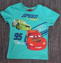 Tričko cars s krátkym rukávom 85128, disney,98