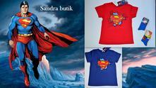 Detské tričko superman, 110 - 152