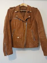 Kožená bunda v. 38, c&a,38