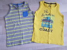 2 ks tričká bez rukávov, lupilu,116
