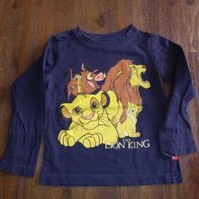 Tričko s dlhými rukávmi, disney,92