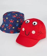 George 2pack - šiltovka a klobúk, george,86 - 116