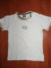 Biele tričko s volánikmi, coccodrillo,116