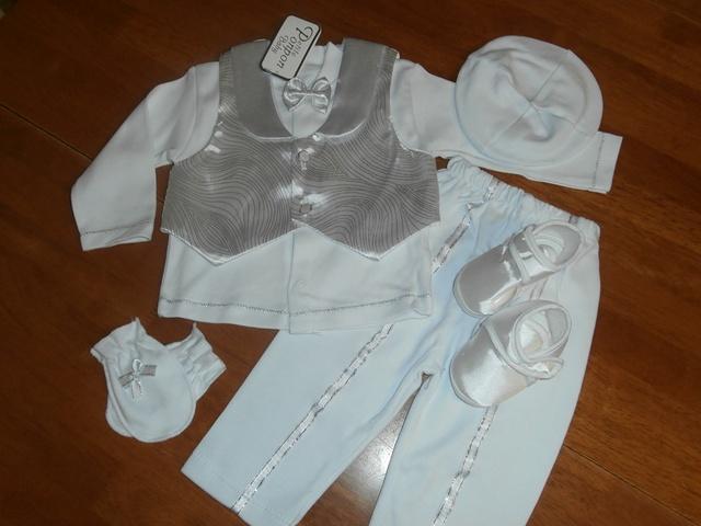 Chlapčenské oblečenie na krst 13 veľ. cca.68  fe76ae87706