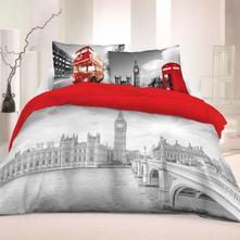 Obliečky londýn life style  220/200, 2x70/80 cm, 220