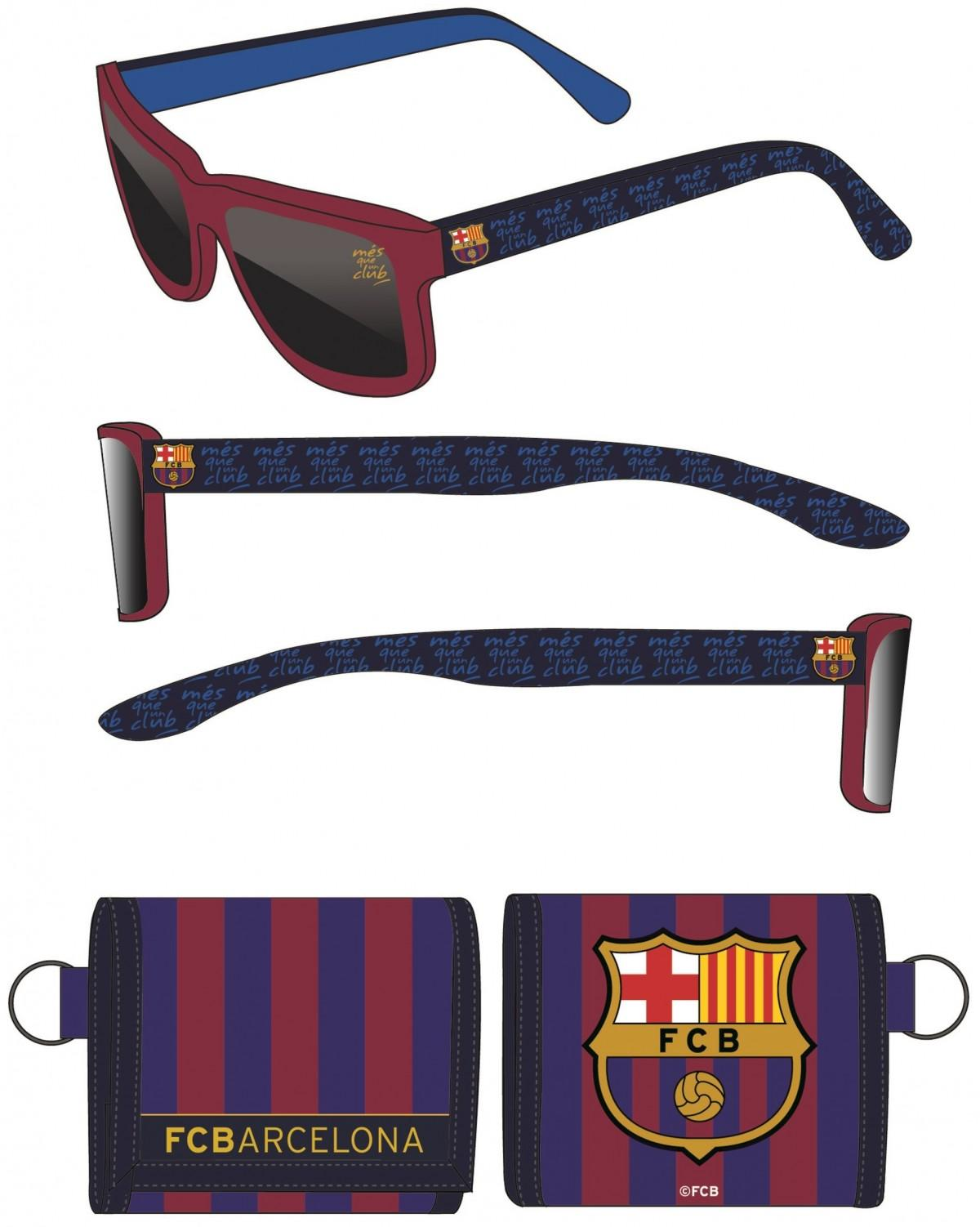 Okuliare + peňaženka fc barcelona c2795cfb6a6