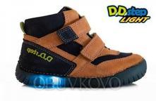 Chlapčenská svietiaca obuv d.d.step dd 050-6al, d.d.step,31 - 36