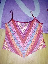 Ružové pletene tričko, c&a,40