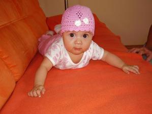 moja nová čiapočka:-)