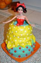 jedna babovka.. a toolko radosti :))) rozdelena do dvoch detskych foriem - maly korpus+mala babovka, plnene vanilkovym kremom s mandarinkami