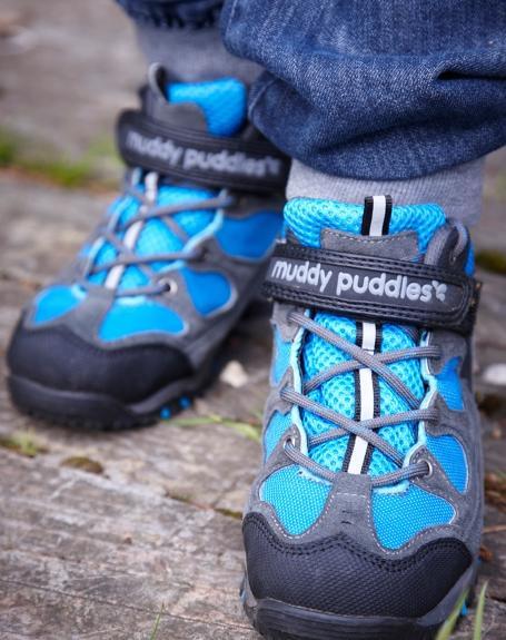 Trekingové topánky - modrá 8087097d713
