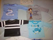 Detské tričká s dlhým rukávom, pepco,<50 / 56 / 62 / 68 / 74