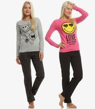Smiley dámske pyžamo, disney,l / m / s / xl