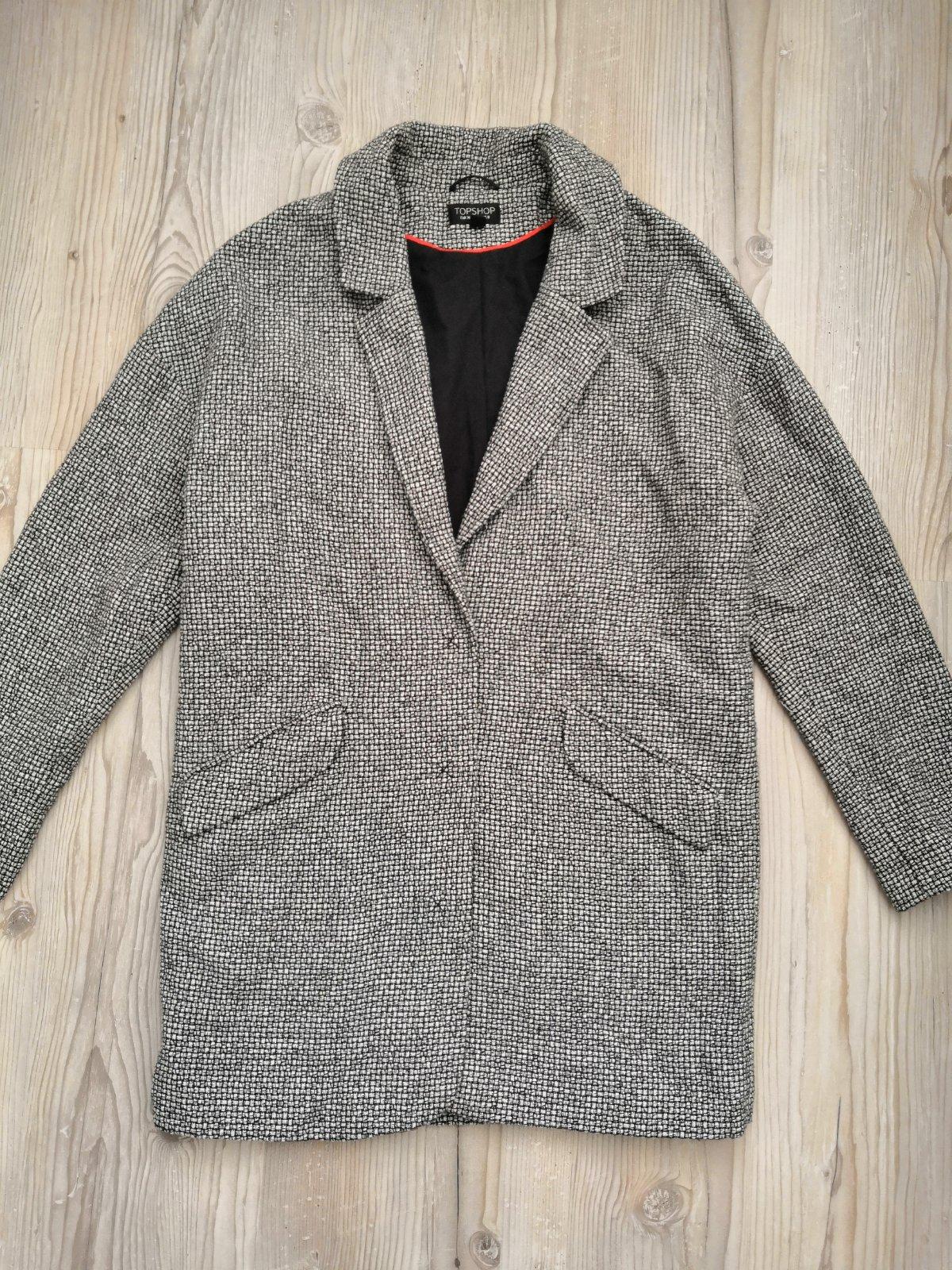 Topshop kabát bfb0aebd51