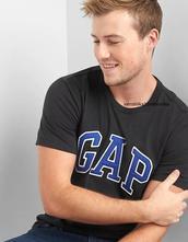 Pánske tričko zn gap xs po xxl logo, gap,l - xxl
