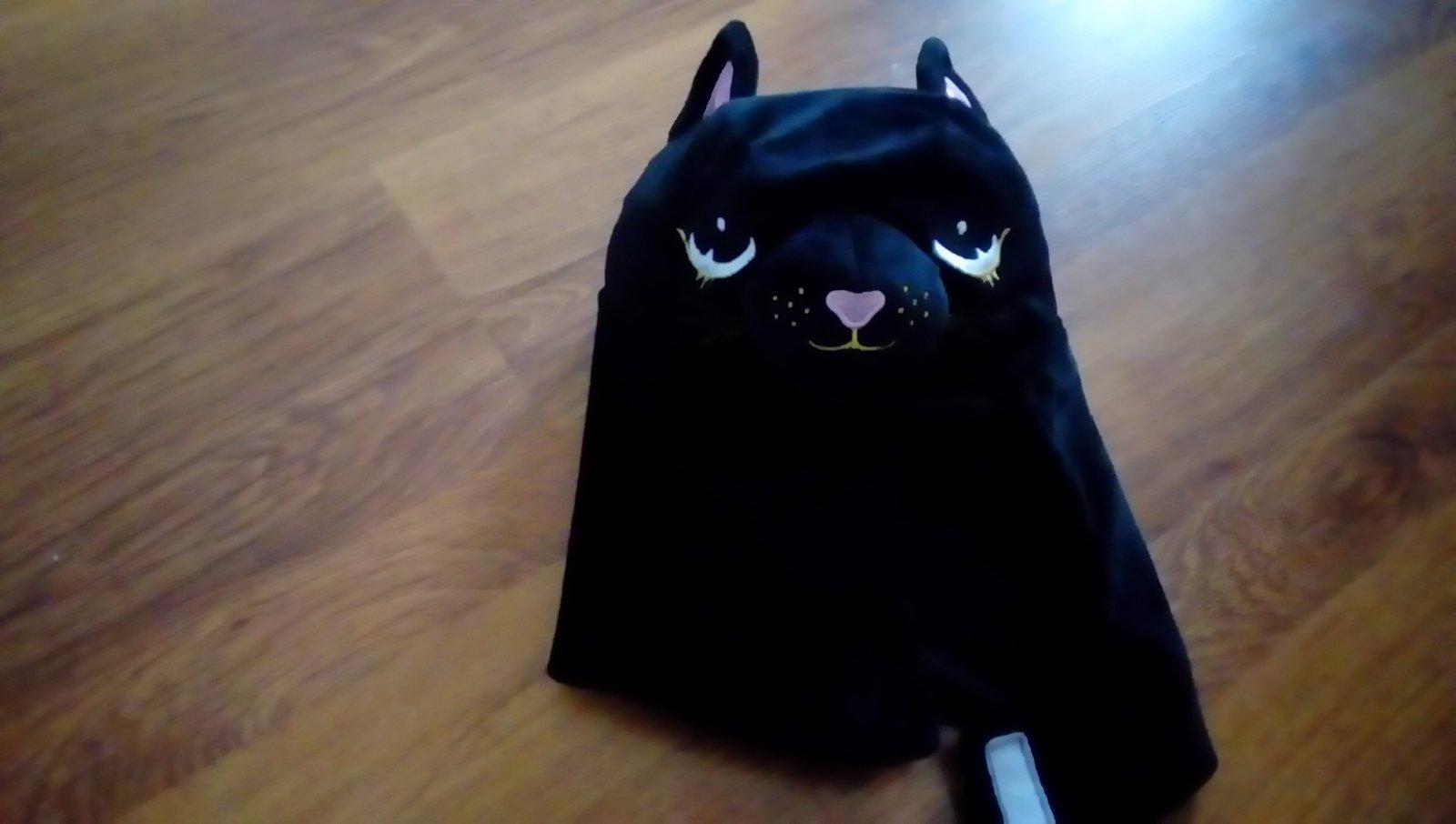 Mamičky čierna mačička pics