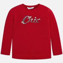 Mayoral dievčenské tričko 178-076 red, mayoral,92 - 134