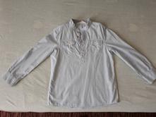 Košeľa s dlhým rukávom, h&m,128