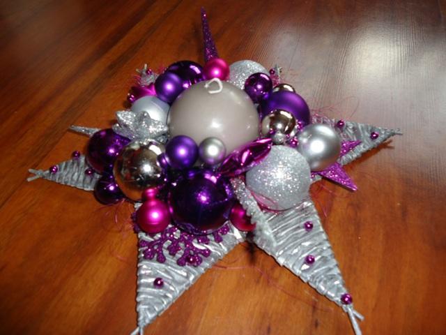 a82752881 Na vianoce - pletené z papiera - vianočná hviezda - stieborno ...