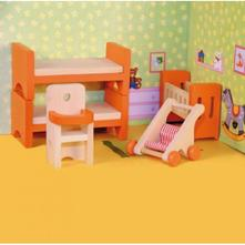 Nábytok do domčeka - detská izba 3+,