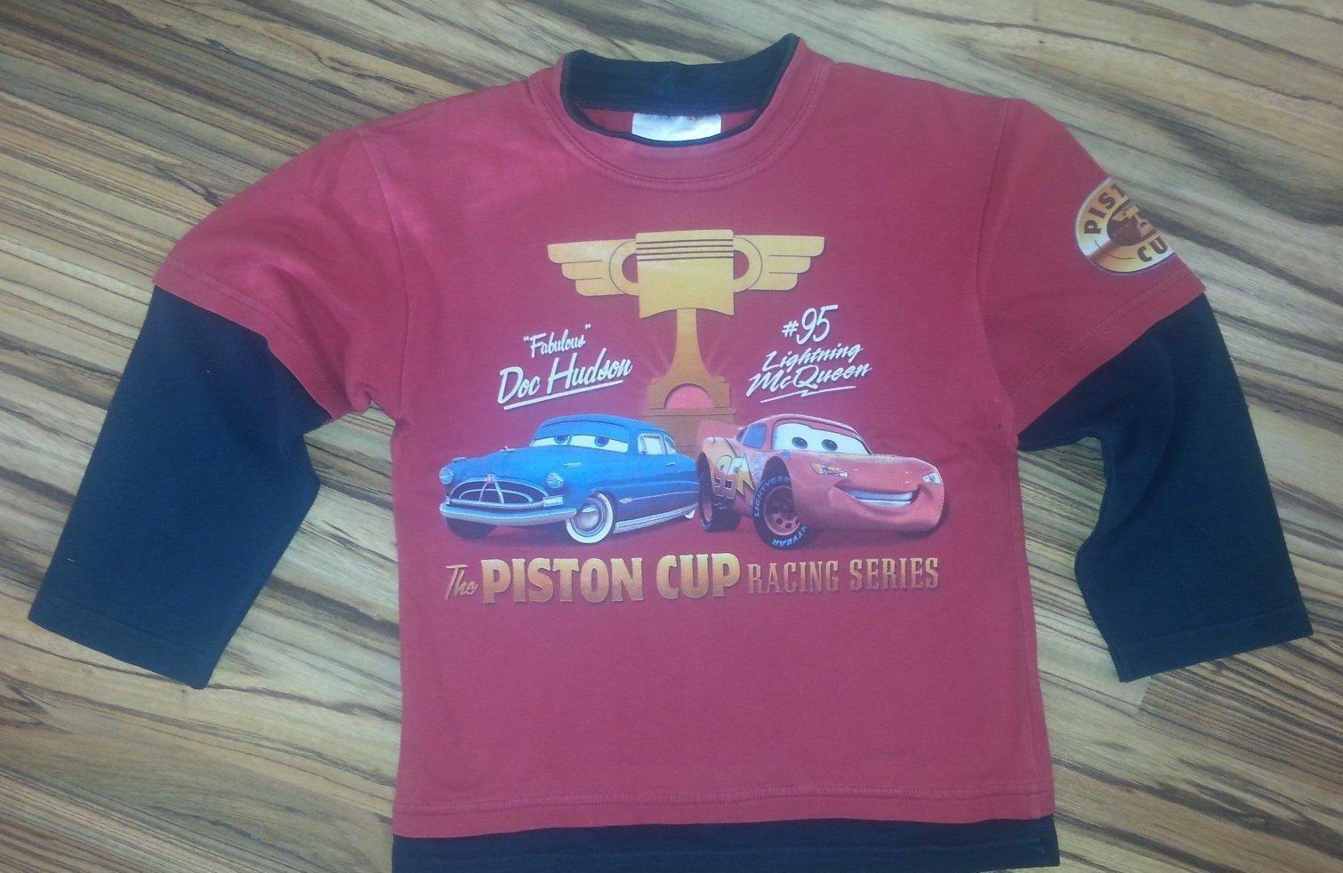 2818b4531eca Chlapčenské tričko s dlhým rukávom cars